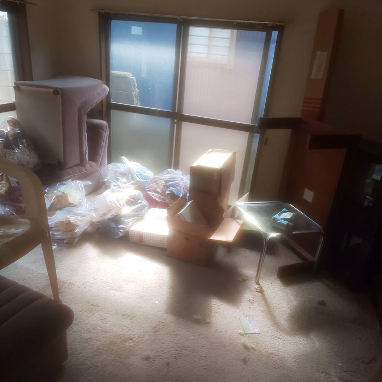 3LDK 洋室 before