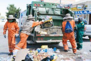 ゴミの収集