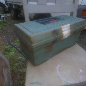 工具箱 エイジング塗装