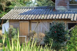 平屋の空き家
