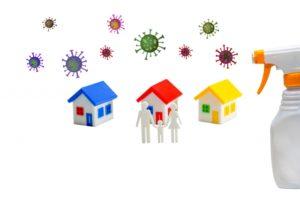 家の除菌イメージ