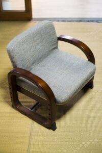 正座ができる座椅子