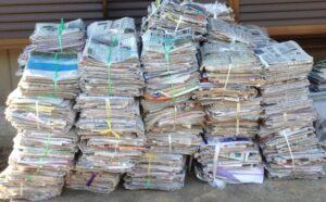 資源ゴミ 紙