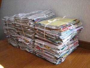 チラシ・新聞紙 梱包